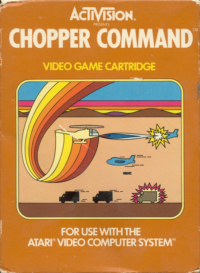 Chopper Command Atari 2600 Front Cover