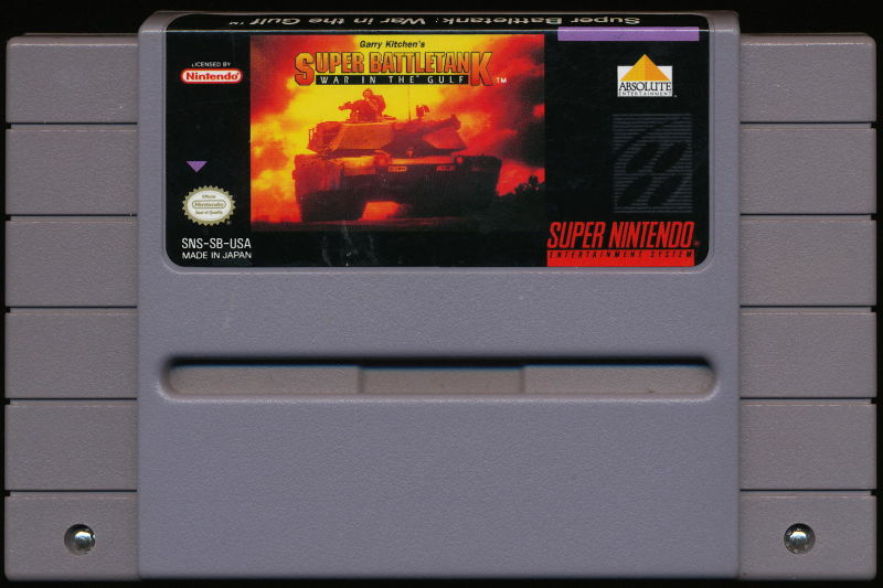 Super Battletank SNES Media