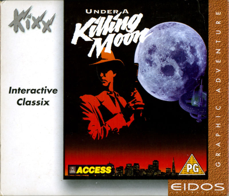 Under a Killing Moon DOS Other DigiPak - Front
