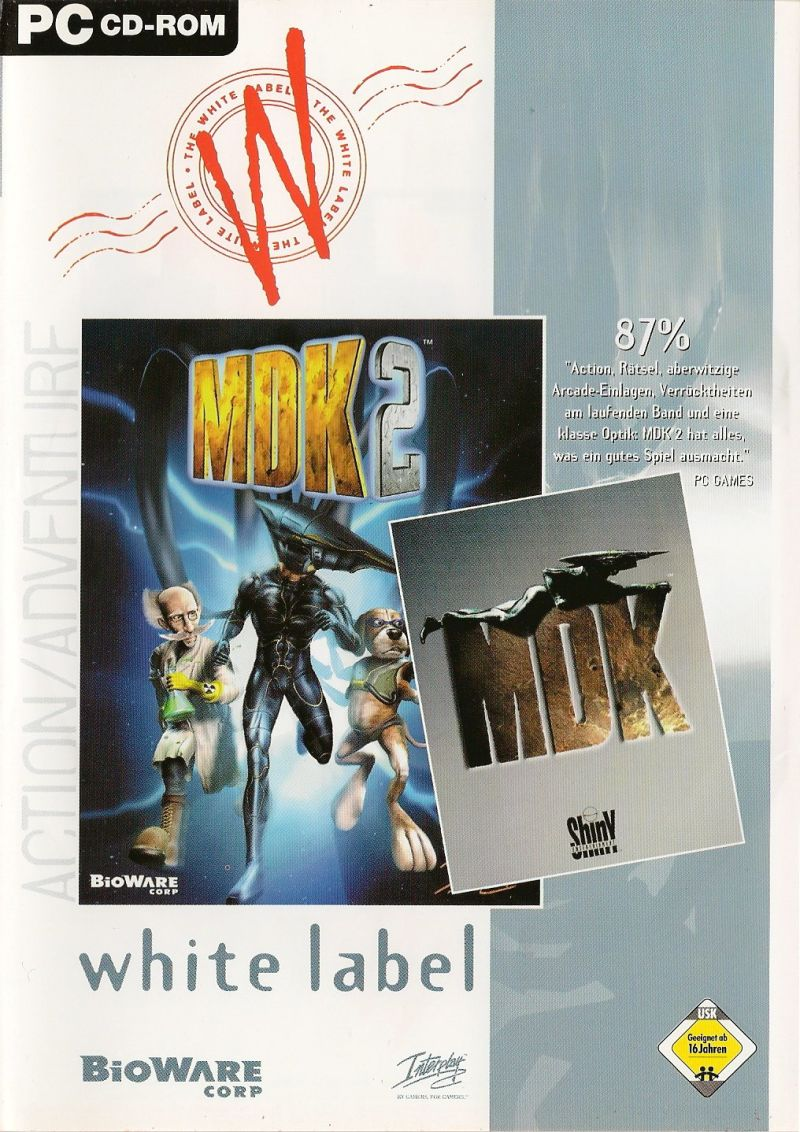 MDK + MDK 2 Windows Front Cover