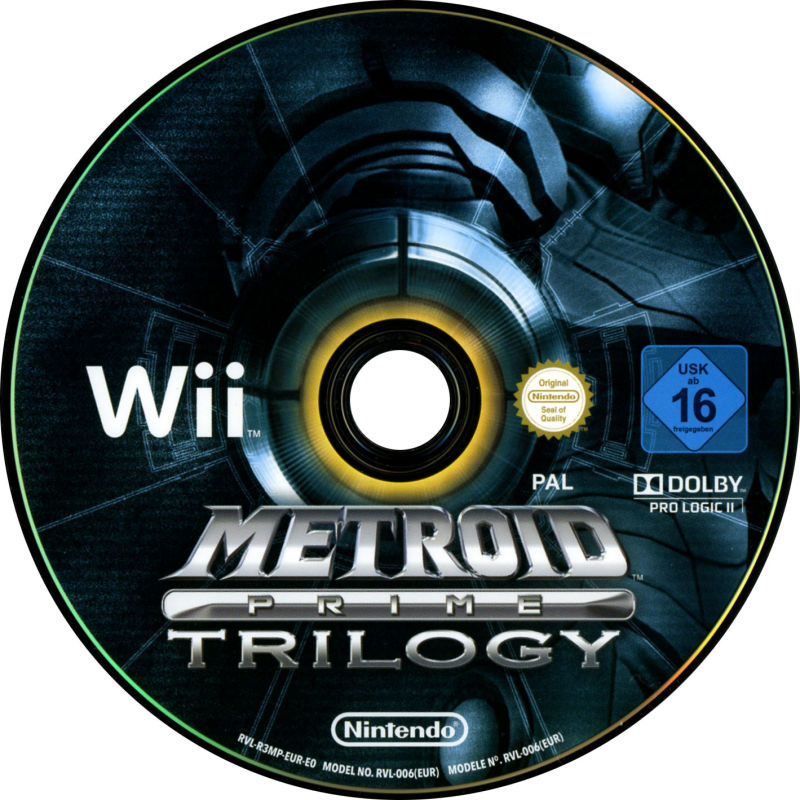 Metroid Prime Trilogy Wii Media