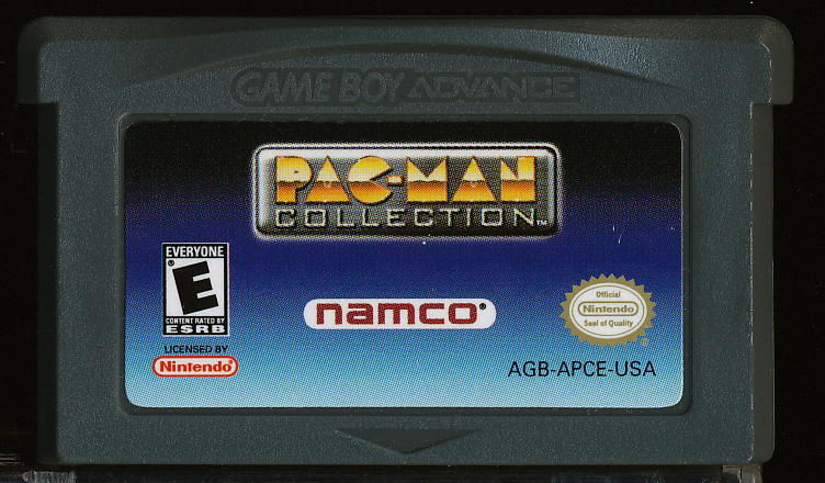 Pac-Man Collection Game Boy Advance Media