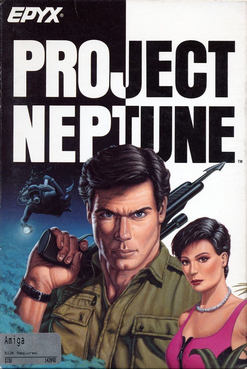 Project Neptune For Amiga 1988 Mobygames