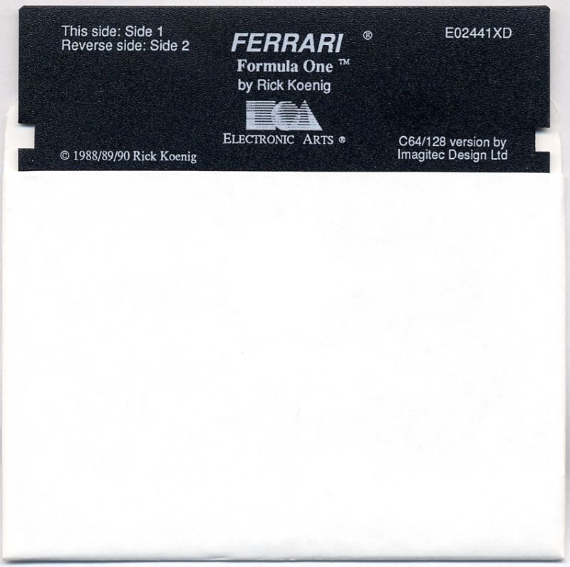 Ferrari Formula One Commodore 64 Media