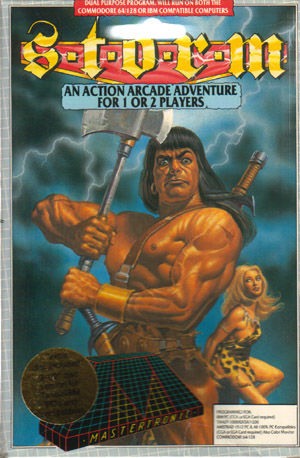 Storm Commodore 64 Front Cover