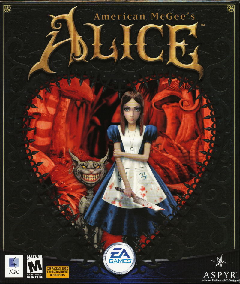 American McGee's Alice Macintosh Front Cover