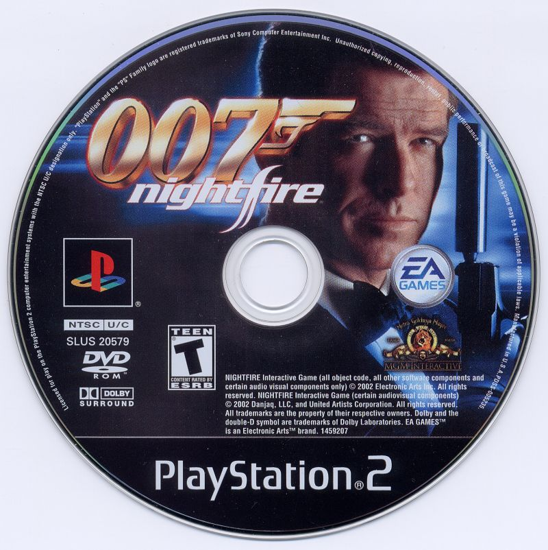 007: Nightfire PlayStation 2 Media