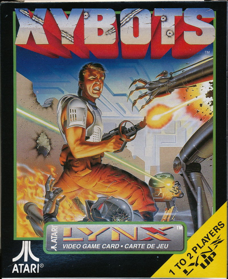 Xybots Lynx Front Cover