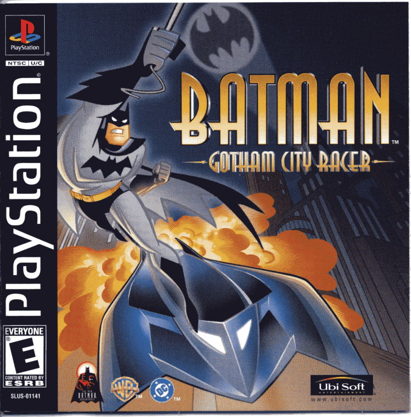 Batman: Gotham City Racer PlayStation Front Cover