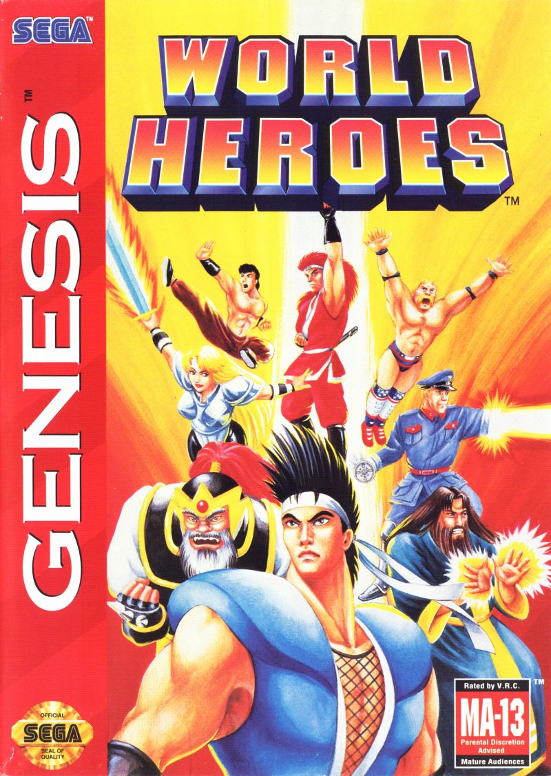World Heroes Genesis Front Cover