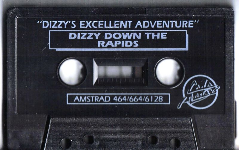 Dizzy's Excellent Adventures Amstrad CPC Media Dizzy Down the Rapids