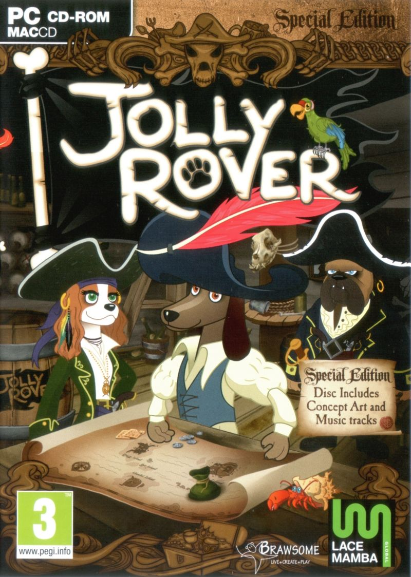 Jolly Rover (Special Edition) Macintosh Front Cover