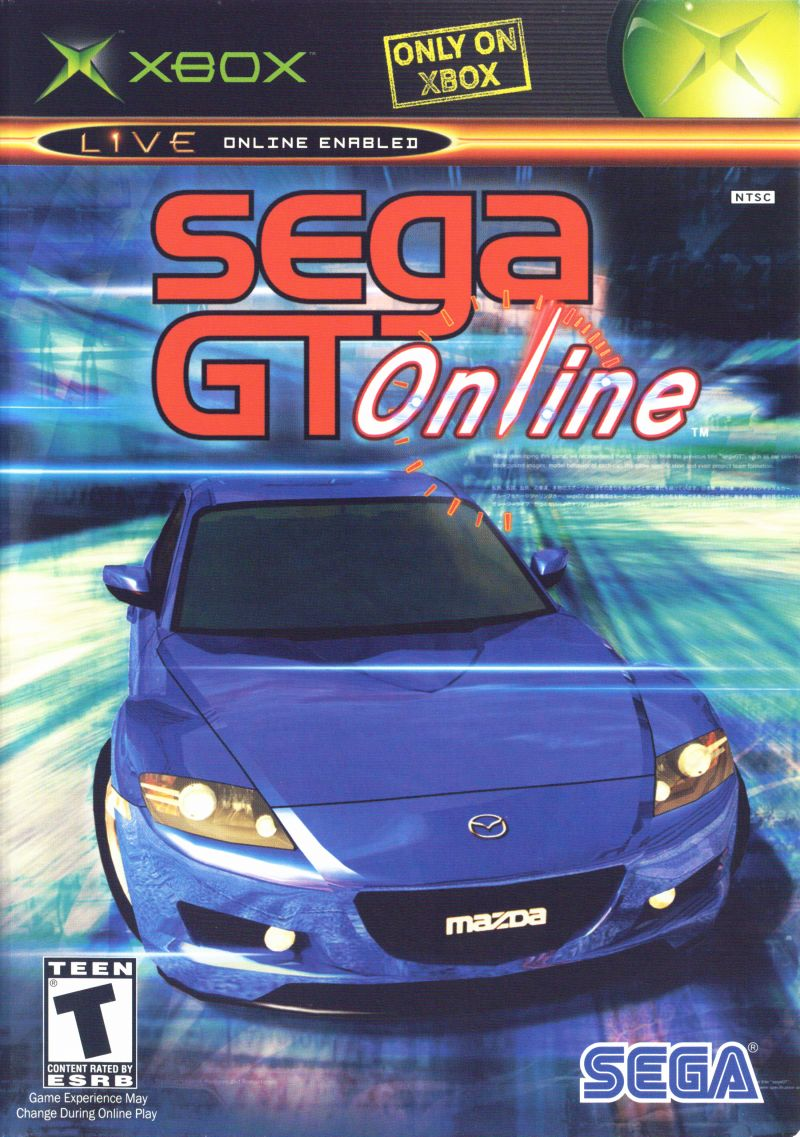 Sega GT Online Xbox Front Cover