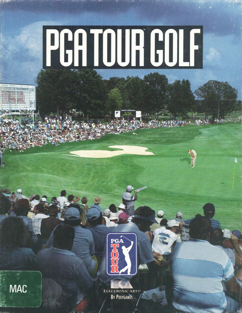 PGA Tour Golf Macintosh Front Cover