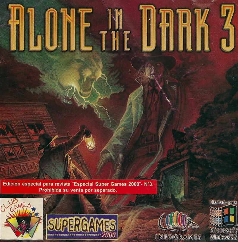 Alone In The Dark 3 1994 Dos Box Cover Art Mobygames