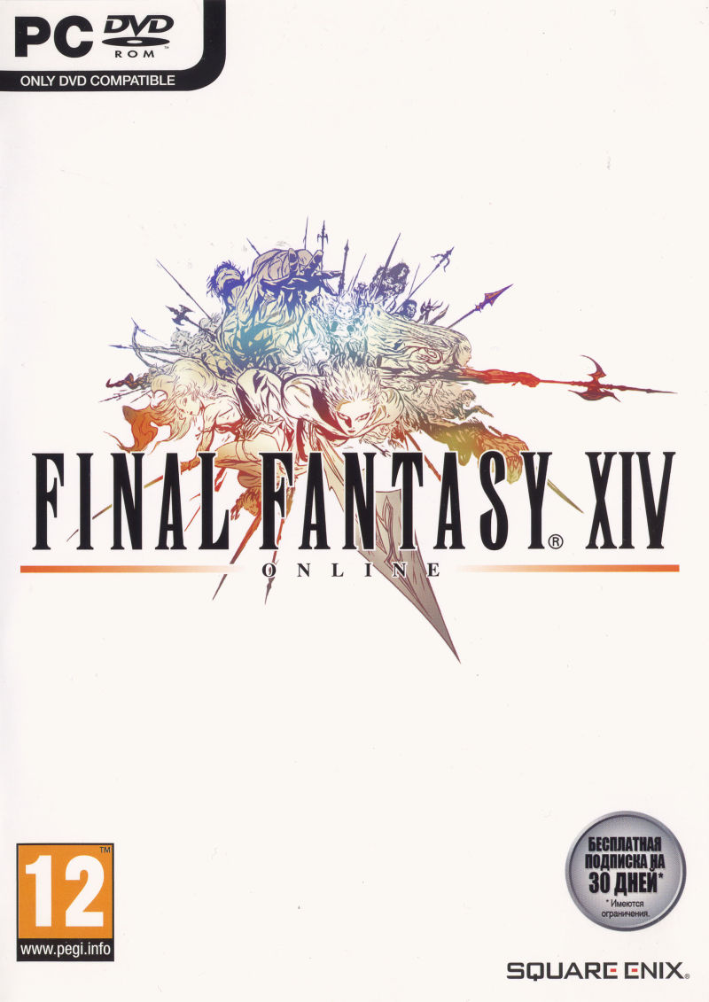 Final Fantasy XIV Online Windows Front Cover