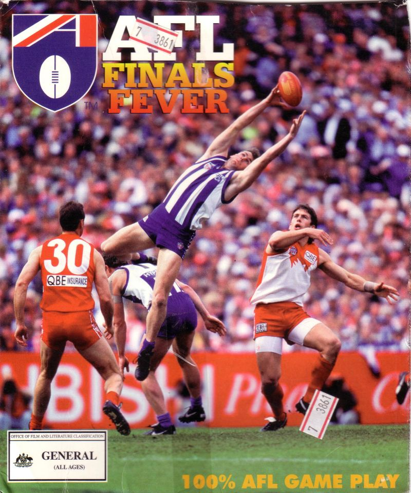 AFL Finals Fever Windows 3.x Front Cover