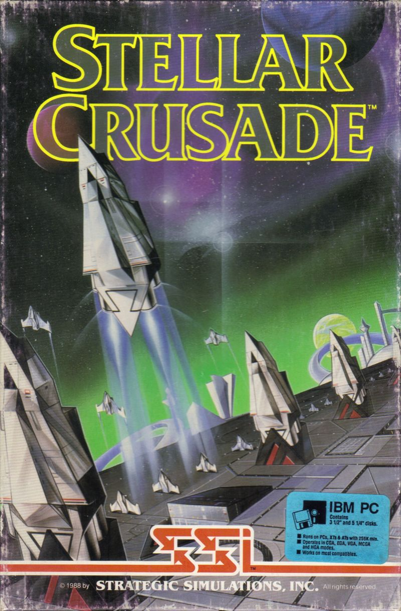 Stellar Crusade DOS Front Cover