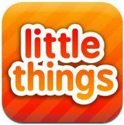 Little Things iPad Front Cover