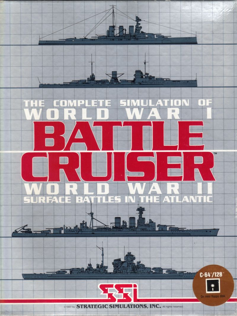 Battle Cruiser Commodore 64 Front Cover