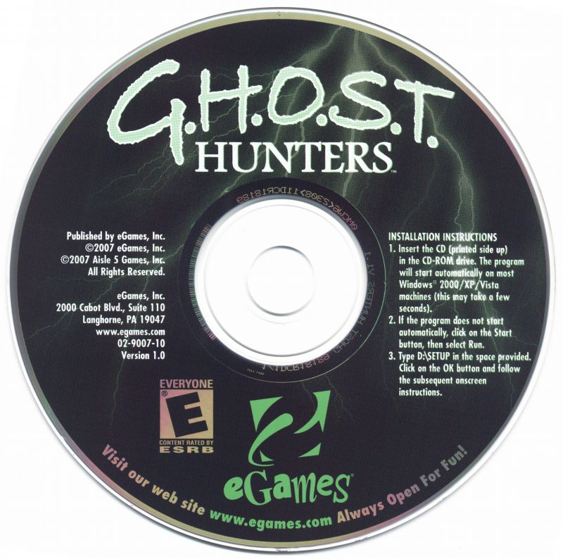 G.H.O.S.T. Hunters: The Haunting of Majesty Manor Windows Media