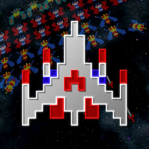 Galaga: Remix iPhone Front Cover
