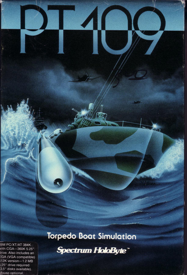 PT-109 DOS Front Cover