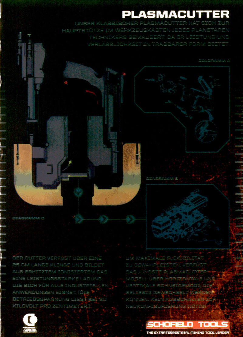 Dead Space 2 (Collector's Edition) Windows Inside Cover Right Flap