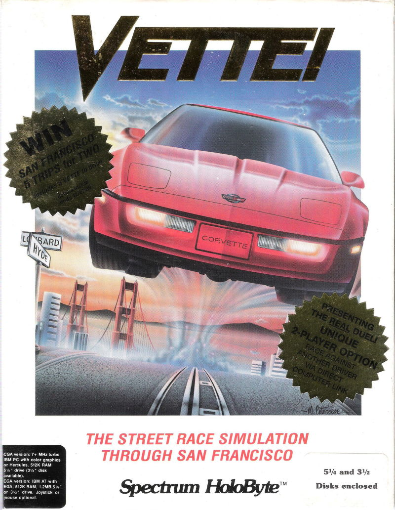 Vette! DOS Front Cover