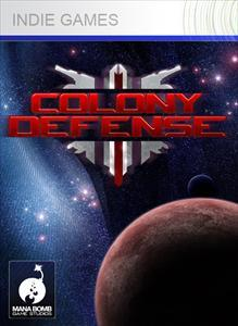 Colony Defense Xbox 360 Front Cover