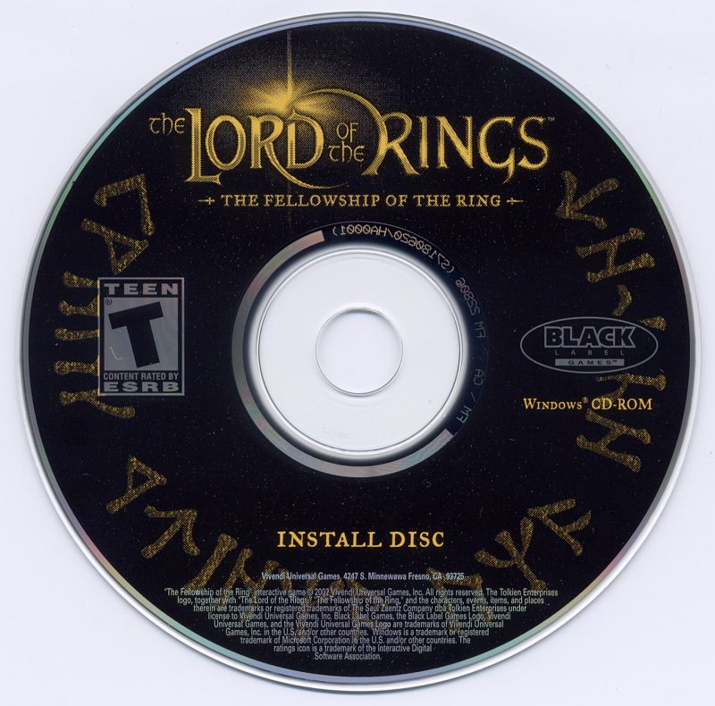 The Lord of the Rings: The Fellowship of the Ring Windows Media