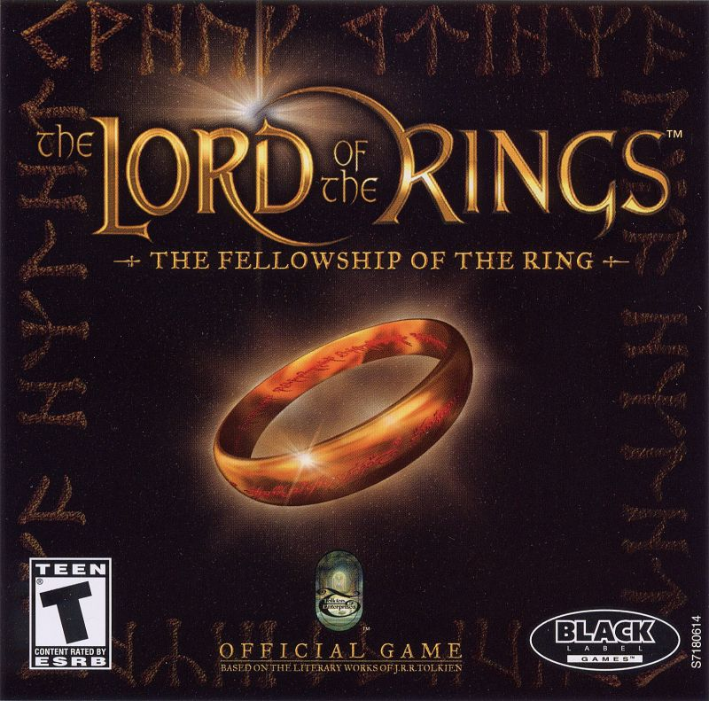 The Lord of the Rings: The Fellowship of the Ring Windows Other Jewel Case - Front