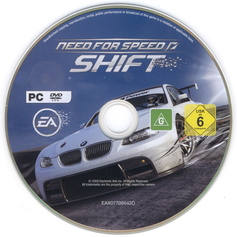 Need for Speed: SHIFT Windows Media