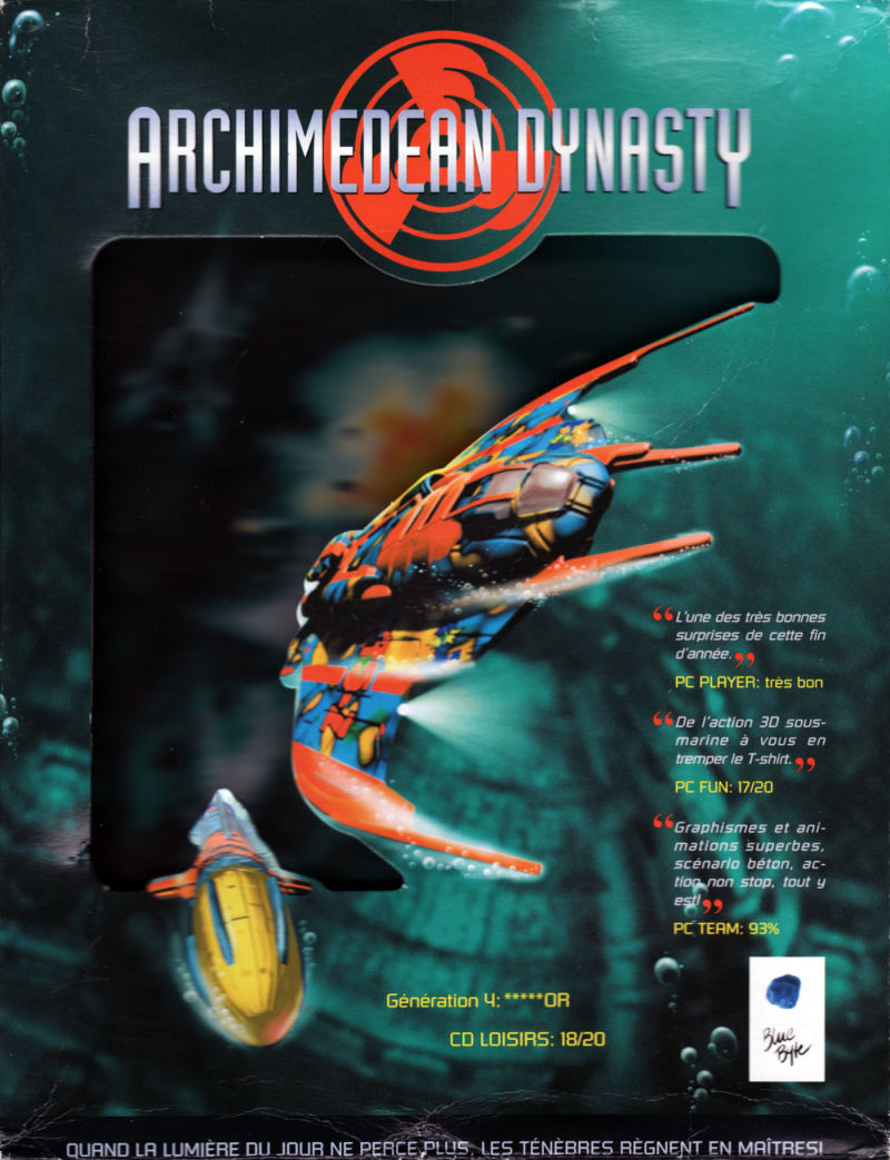 Archimedean Dynasty DOS Front Cover