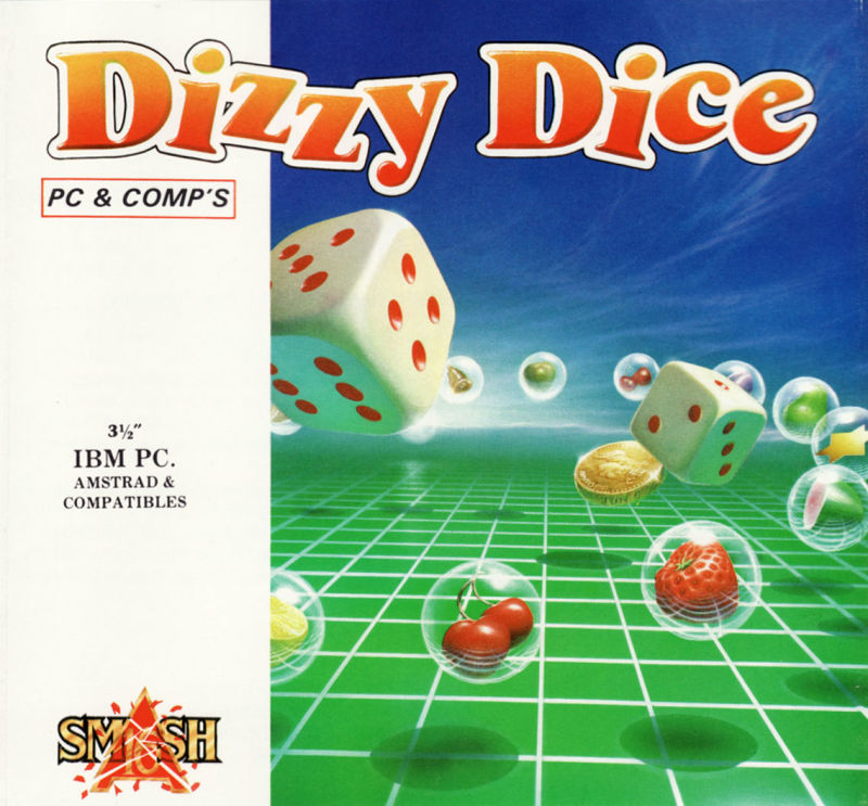 Dizzy Dice DOS Front Cover