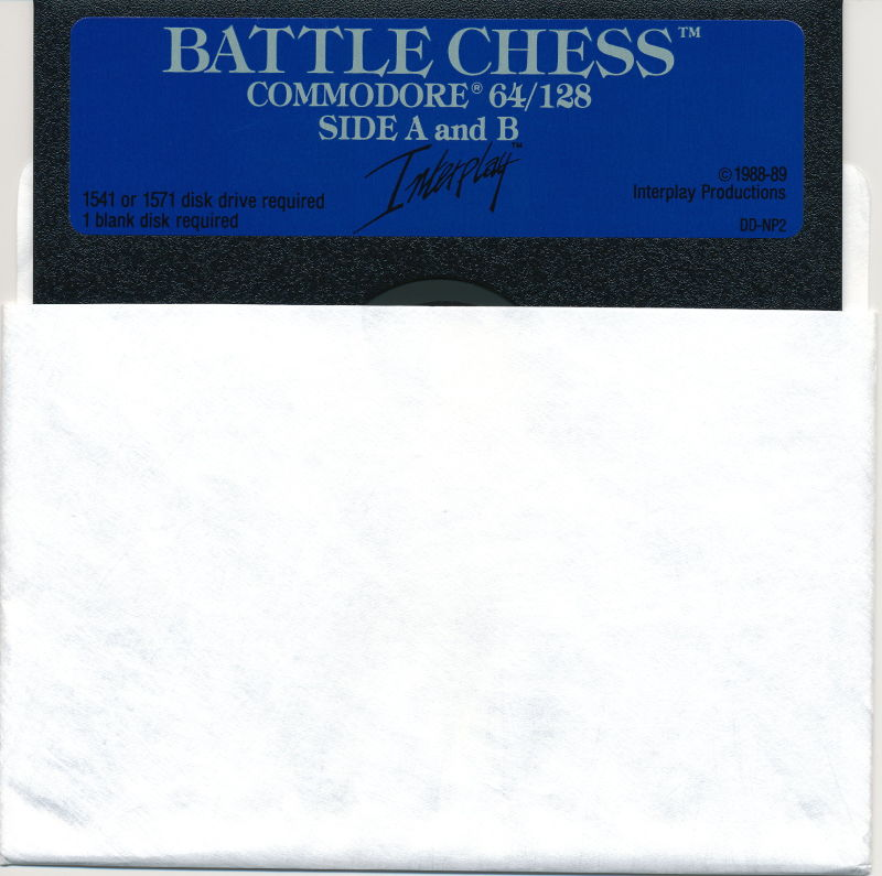 Battle Chess Commodore 64 Media
