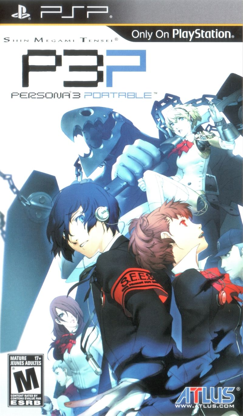 persona psp games
