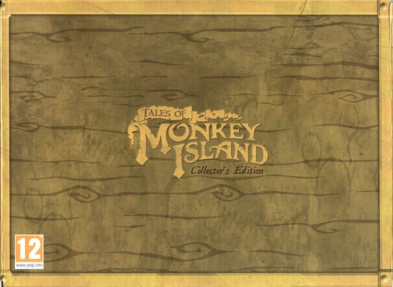 Tales of Monkey Island: Collector's Edition Macintosh Front Cover