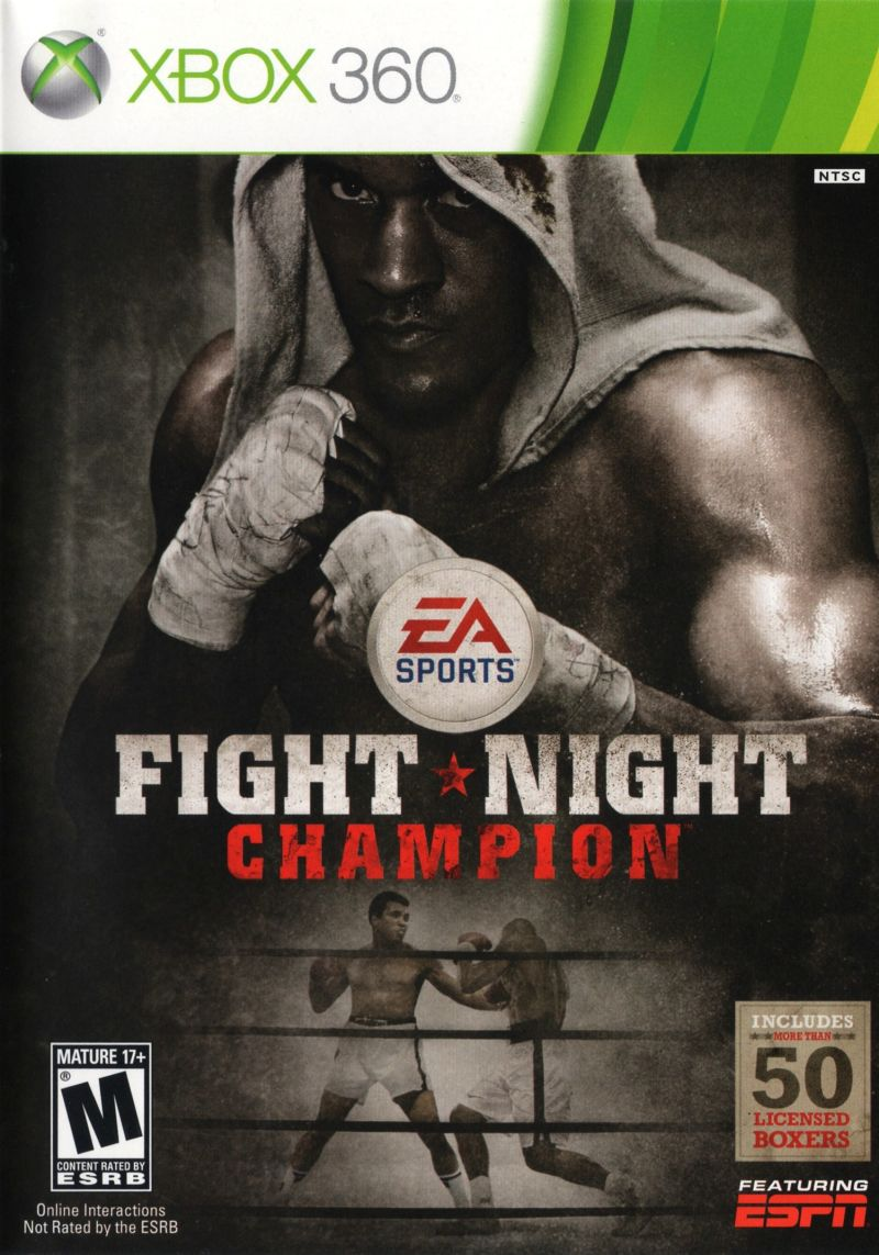 Fight Night Champion Xbox 360 Front Cover