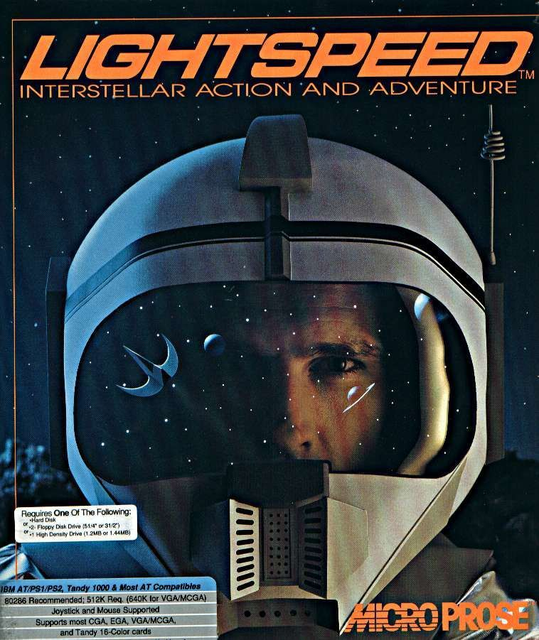 Lightspeed DOS Front Cover