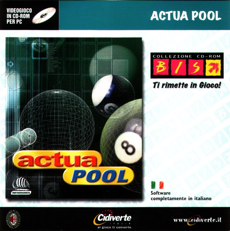 Actua Pool Windows Front Cover