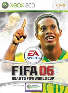 FIFA 06: Road to FIFA World Cup Xbox 360 Front Cover