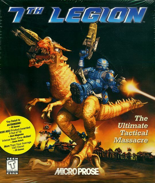 7th Legion Windows Front Cover