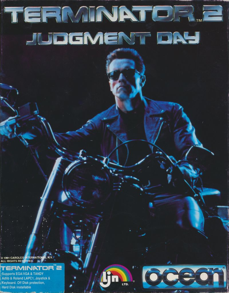 the terminator 2 - Movie DVD Scanned Covers ...  |The Terminator 2 Cover