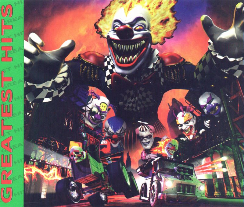 Twisted Metal 4 PlayStation Inside Cover
