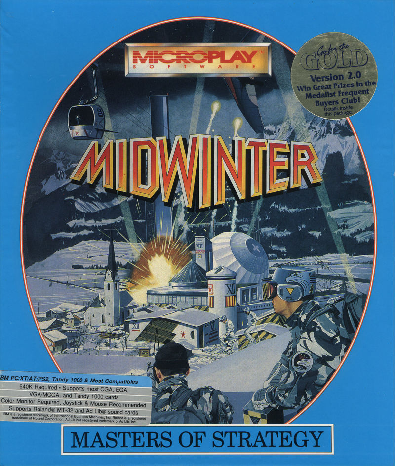 Midwinter DOS Front Cover