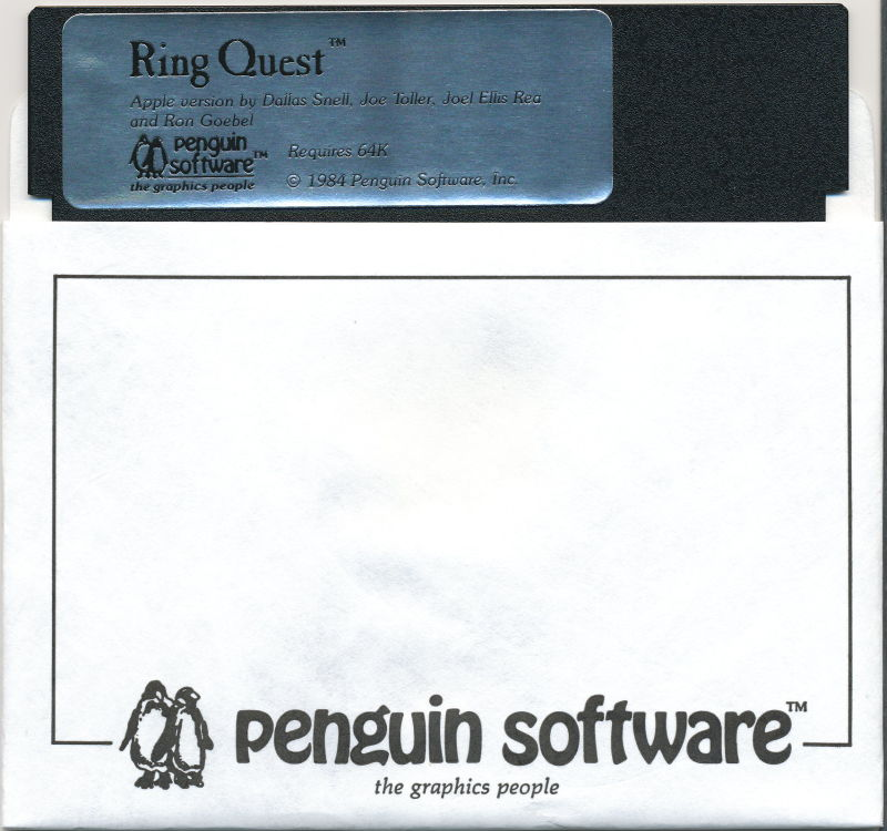 Ring Quest Apple II Media