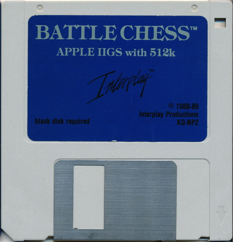 Battle Chess Apple IIgs Media