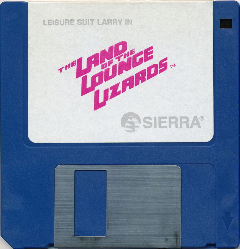 Leisure Suit Larry in the Land of the Lounge Lizards Apple IIgs Media