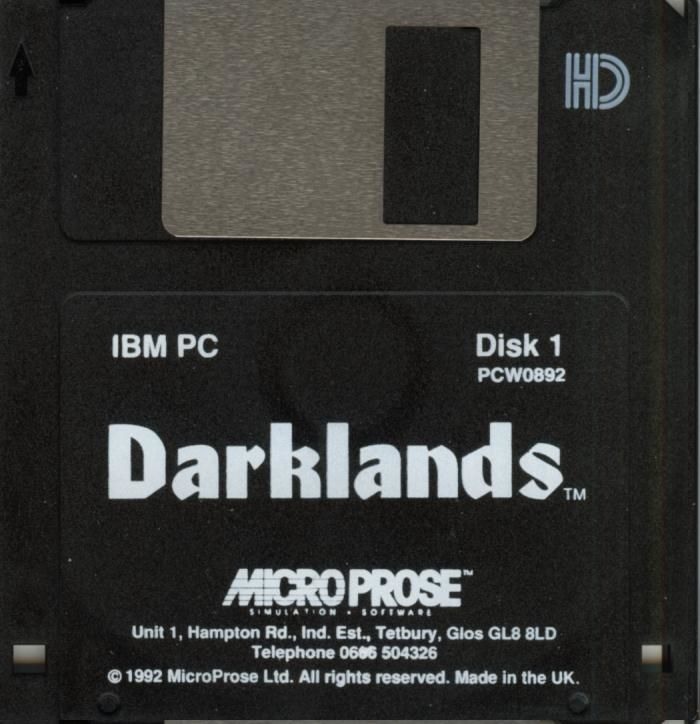 Darklands DOS Media Disk 1/10